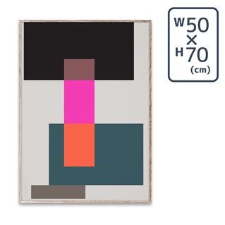 〔PAPER COLLECTIVE〕 ポスターWrong Geometry 01 (50×70)