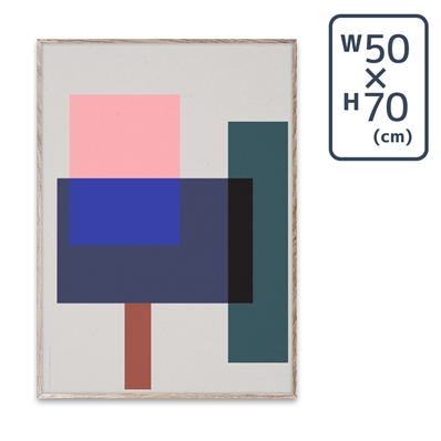 〔PAPER COLLECTIVE〕 ポスターWrong Geometry 02 (50×70)
